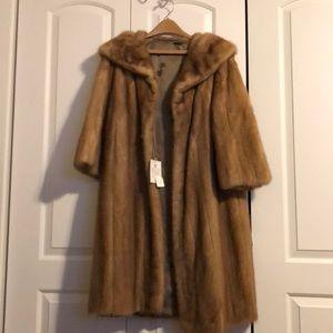 Authentic mink coat size Large